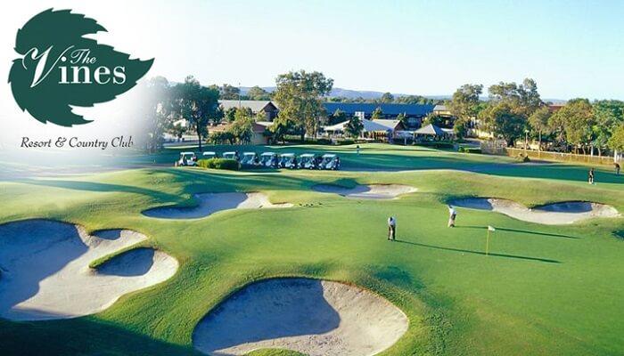 The Novotel Vines Resort Golf Course