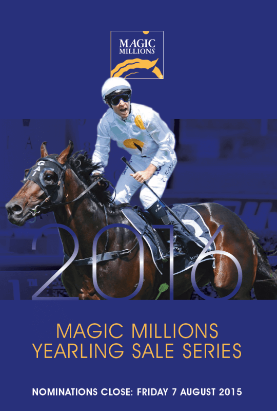 Entries Open for 2016 Magic Millions Yearling Sales Series