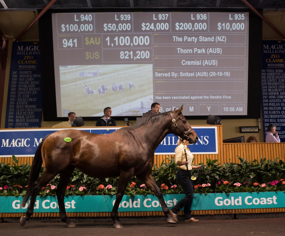 The Party Stand Tops National Broodmares Day Two