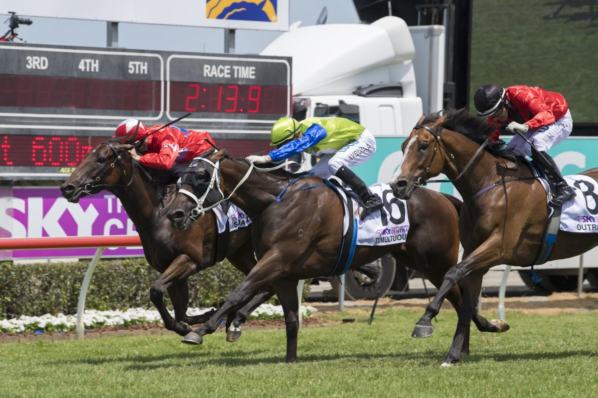 Tumultuous Bobs in Time to Win MM Trophy