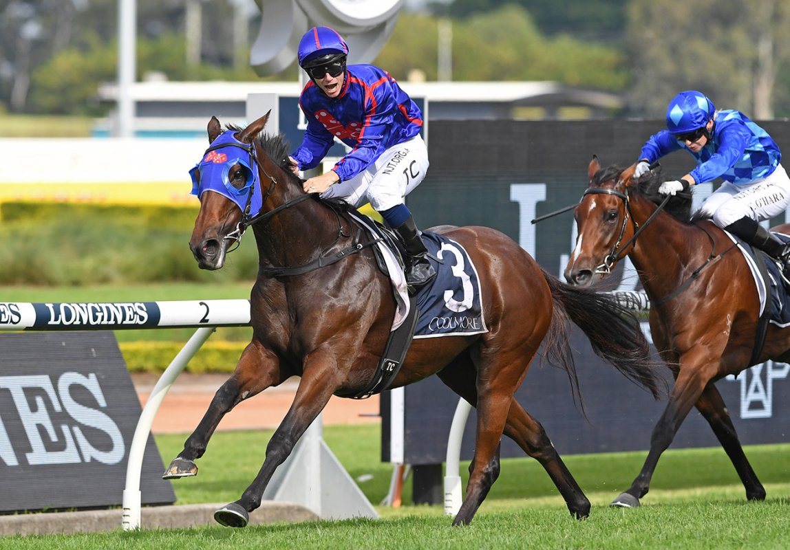 Red Hot Krone Triumphant in Coolmore Classic